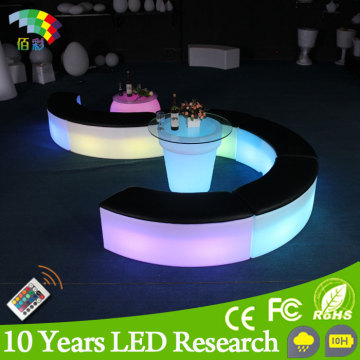 Glowing Luxurious Outdoor LED Illuminated Furniture