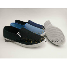 Flat Women Canvas Shoes with Latest Design, Slip-on Casual Shoes