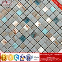 China supply factory cheap products mixed Hot - melt mosaic tiles