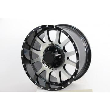 Replica 18x9.0 Black Machine Face velg
