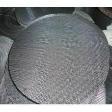 Acero inoxidable / disco de malla de alambre / paño de alambre negro para Fiter