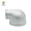 Codo de aluminio de encargo de los accesorios de tubería del bastidor