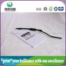 Luxury Paper Printing Hang Tag (Plastic, Small)
