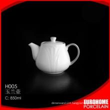 2016 new goods stock china wholesale new bone china tea pot