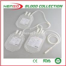 Saco de coleção de sangue triplo Henso