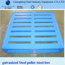 2t Rackable Manual Truck Metal Hand Pallet