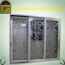 High-quality 120 broken bridge heavy sliding doors series with temper glass for house