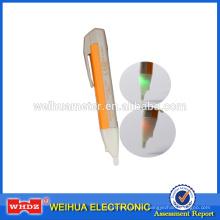 Detector de voltaje sin contacto Probador de intensidad de campo eléctrico con zumbido y alarma de destello Electrodo de cobre Inducción VD02T