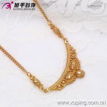 Xuping Moda 18k oro de color de lujo de mariposa collar heráldico (42486)