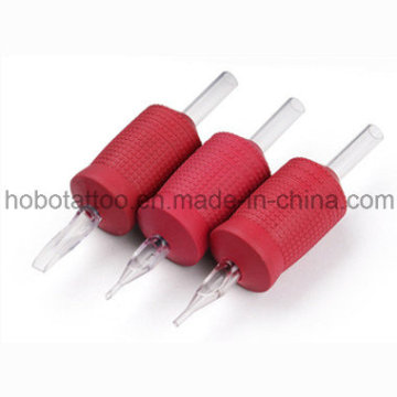 30mm High Quality Soft Tattoo Grip with Clear Tip