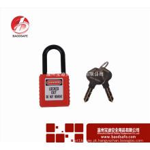 Bloqueio de segurança BAODI BDS-S8611 Cadeado não condutor Cadeado cadeado ABS