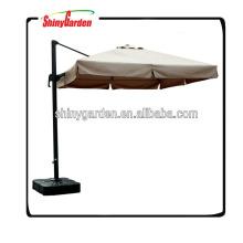 3X3M Luxury Umbrella Big Size Outdoor Garden Roman Aluminium Umbrella Parasol Weatherproof Patio Umbrella