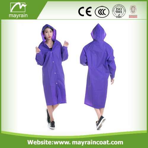 PVC Raincoat for Traveling