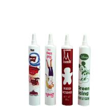 20ml PE soft tube long nozzle food tube with screw cap