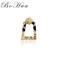 Os novos brincos pingente de leopardo exclusivos, joias, brincos femininos