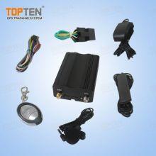 Segurança do carro GPS Tracker com alarme, controle remoto para carro / caminhão / frota (TK103-ER)