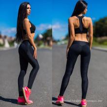 Black Yoga Sport Gym Fitness Pants Leggings 3027