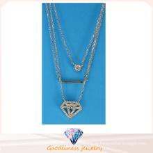 Art- und Weiseschmucksache-Sterlingsilber-Schmucksache-spezielle Entwurfs-hängende Halskette N6777 der heißen Verkaufs-Frau
