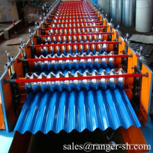 Corrugated roof roll forming machine/tile roll forming machine