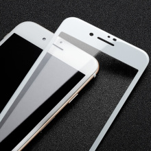 HD White Tempered Glass für iPhone 8 Plus