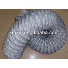 conduit en verre gris tissu résistant haute température