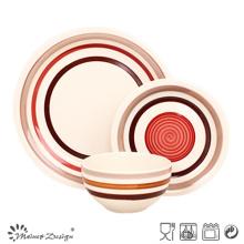 18PCS High Quality Handpainted Ceramic Dinner Set