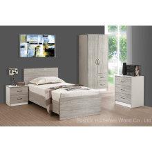 Ensemble de meubles de chambre à coucher pour étudiant universitaire pour dortoir étudiant (HF-EY08272)