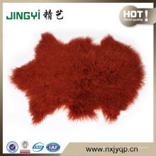 2018 venta al por mayor de tapicería Tibetan Mongolia Cordero de piel de oveja SKin