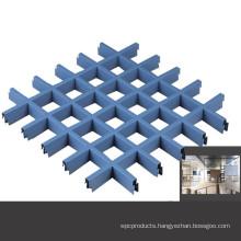 2020 customized aluminium grille ceiling suspended metal ceiling grid