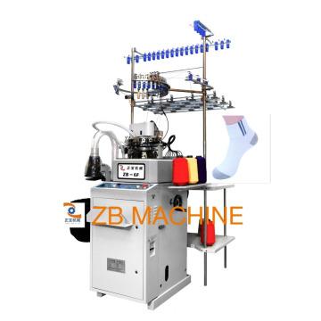 3.75 plain two feed sock machine