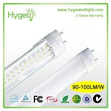 UL SAA TUV DLC FCC CE RoHS t8 led tube Single lighting SMD2835 20w led tube lamp