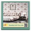 Fondo de pantalla de textil venta caliente de 280cm de papel pintado de flores de decoración