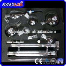 Kits de distillation de verre Joan Lab, kits de verrerie de laboratoire de chimie organique