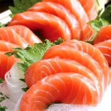Saumon congelé de style japonais de sushi