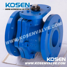 DIN Cast Iron Floating Ball Valves with Lever Operation