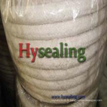 Corde ronde en fibre de céramique avec renforcement de fil SS