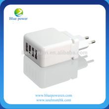 EU US UK plug Cargador para teléfono móvil universal USB Cargador adaptador de pared cargador de carga rápida