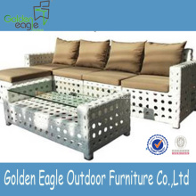 Venda quente Especial Design Rattan Sofa Set