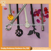 2013 hot curtain rod , plate curtain rod , single curtain rod