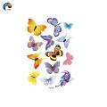 145*210mm Butterfly series boay tattoo sticker in Foshan