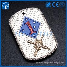 fabricante de metal de encargo para la etiqueta de perro del soldado