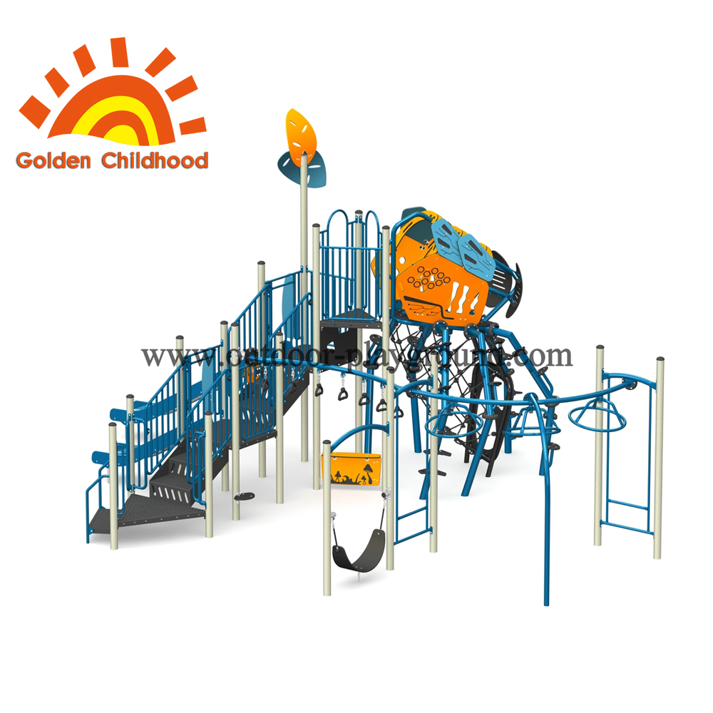 Blue Insect Playground Equipment