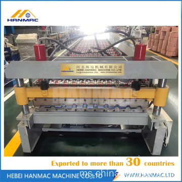 Trapezoidal Sheet Metal Roll Forming Machine