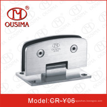 Ss304 doble lados bisagra de ducha redonda de 90 grados (CR-Y06)