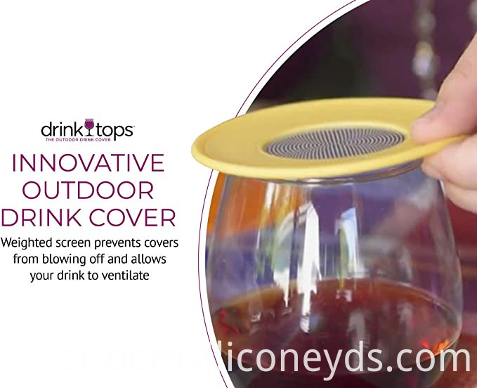 Silicone Ventilated Wine Cover