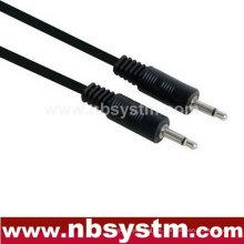 Macho mono de 3,5 mm macho a 3,5 mm mono macho cable de audio macho