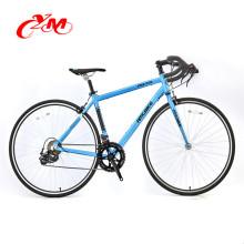 Fabriklieferungs-Titanfestgelegter Fahrradrahmen / buntes Fahrrad örtlich festgelegtes Zahnrad / 700c örtlich festgelegtes Zahnrad-Fahrrad China-Marke