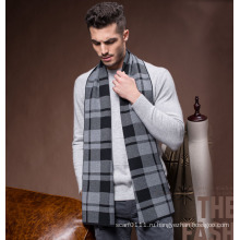 Мужская мода Зимняя шерсть полиэстер нейлон акрил вязаный шарф (YKY4601)