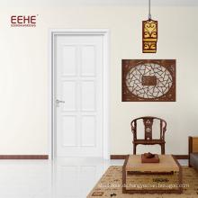 Werkseitig produzierte Wohnzimmer-Holztür weiße Farbe