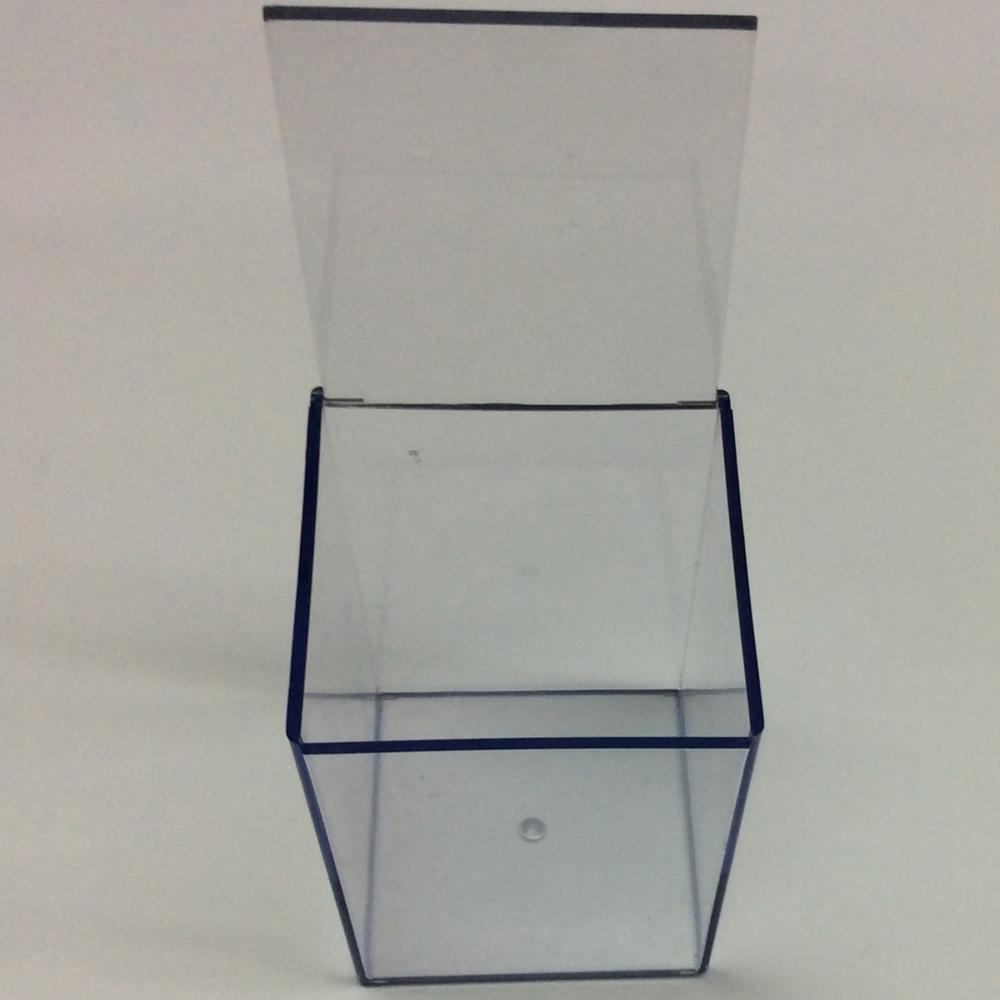 simple transparent storage box